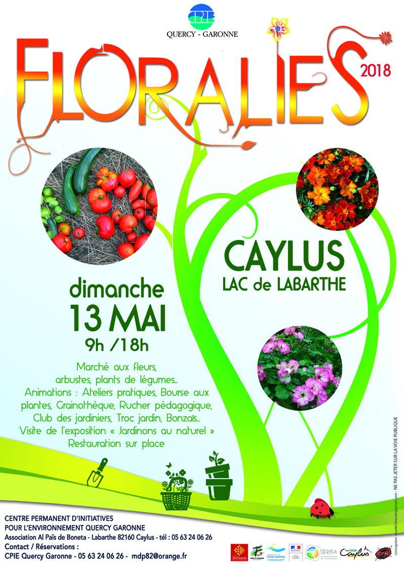 Les Floralies de Caylus