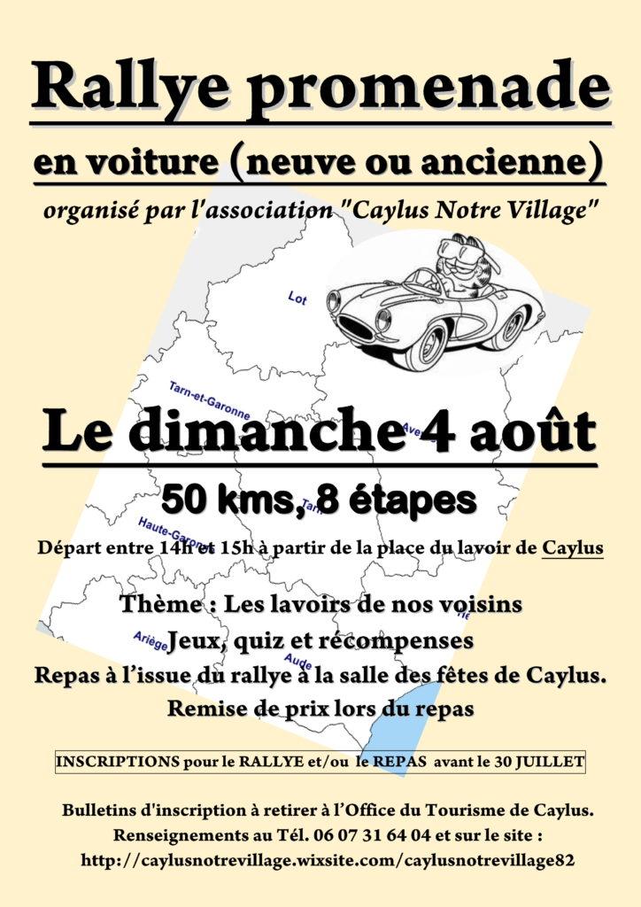 Rallye promenade